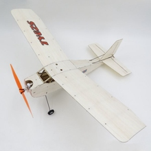 TY model LX17 375mm Wingspan Balsa Wood Laser Cut RC Airplane KIT(China)