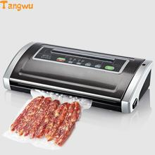 Free shipping Dry and wet food preservation machine vacuum sealing small commercial pumping