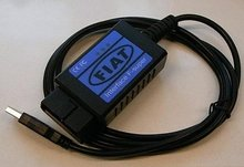 Fiat scanner connector Adapter Cable fiat scanner usb obd2 Diagnostic Cable for Fiat cars(China)