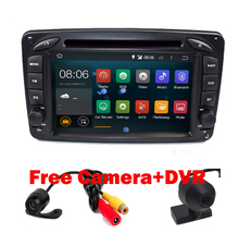 In Stock ANDROID 7.1 CAR DVD PLAYER For Mercedes/Benz/W209/W203/W168/M/ML/W163/W463/Viano/W639/Vito/Vaneo Wifi GPS BT Radio