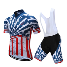 team 2017 cycling jersey bibs shorts set Mtb Bicycle Clothing full set Ropa Maillot Ciclismo bike wear complete suit(China)