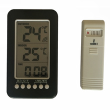Brand New Multifunction High Quality Portable Wireless Digital Indoor/Outdoor Thermometer Watch With Long Service Time
