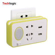 Multi Function USB Charger with LED Light Mobile Phone Charging station Scanner Laptop USB Charger Hub Universal Socket(China)