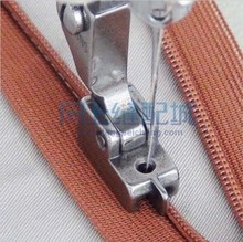 SEWING MACHINE SPARE PARTS & ACCESSORIES HIGH QUALITY SEWING PRESSERFOOT S518NS ZIPPER PRESSER FOOT(China)