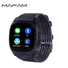 MAFAM AN2 Smart Watche Support Heart Rate Tracker Pedomete Bluetooth Smartwatch With Blood pressure Men Women Watch(China)