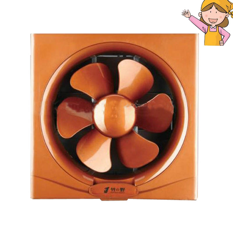 2pcs/lot 8 Inch Wall Mounted Ventilation Fan Bathroom Kitchen Wall Window Mounted Exhaust Fan ZHUYE APB200<br>
