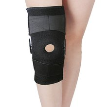 Adjustable Medical Hinged Knee Orthosis Brace Support Ligament Sport Injury Orthopedic Splint Sports Knee Pads Free Shipping(China)