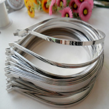 Wholesale 3mm 5mm 7mm DIY Metal Hairbands Hair headbands DIY Accessory Hair Hoops for jewelry Girls Headwear 20pcs/lot(China)