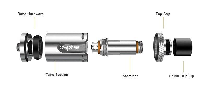 E Cig Atomizer Aspire Cleito EXO Tank TPD/Standard Version 3.5ml Electronic Cigarette Vape Tank E cigarette Atomizer 1