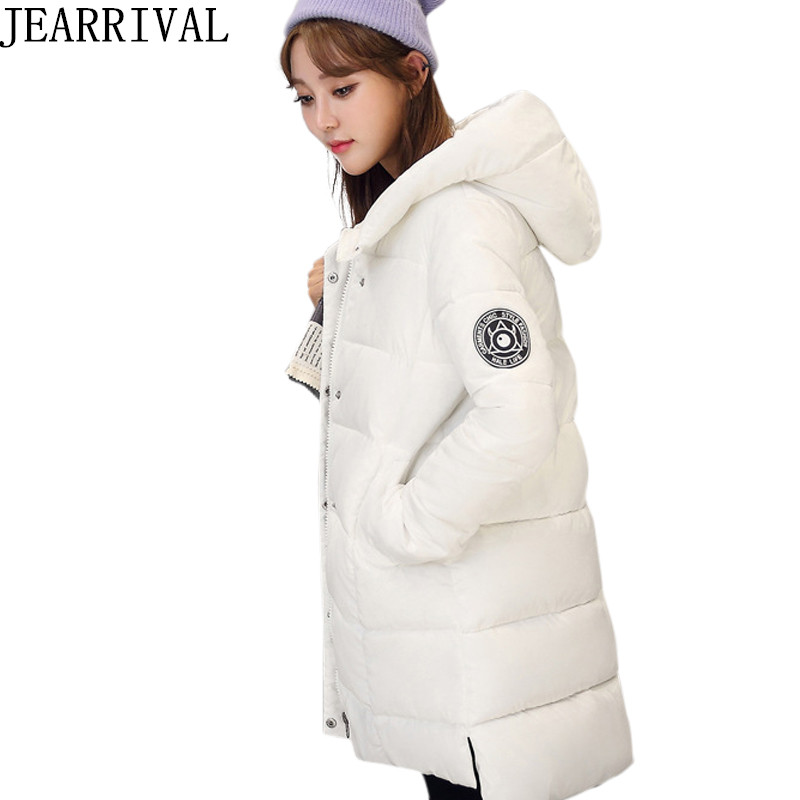 High Quality Winter Jacket Women Long Sleeve Hooded Cotton Padded Thicken Parka 2017 New Fashion Warm Outwear Casacos FemininoÎäåæäà è àêñåññóàðû<br><br>