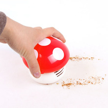 Mini Mushroom vacuum cleaner Home Handheld Tabletop wireless hand Vacuum Cleaner brush Vacuum Car Laptop keyboard Dust cleaner(China)
