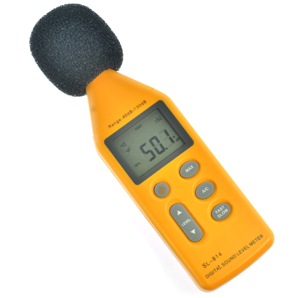 Digital Sound Level Meter With USB Software Noise Meter<br>