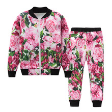 Buy Girls Clothes 2017 autumn Baby Girl Clothing Set Grape roses print 2pcs Set Girls Clothing Kids Clothes Children Clothing Set for $13.47 in AliExpress store