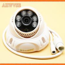 AHWVSE Indoor IR Dome IP Camera 720P 960P 1080P Security Camera CCTV 6PCS IR LED Board ONVIF Camera IP(China)