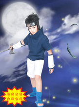 Hot sale Athemis Naruto Uchiha Sasuke Cosplay Costume no accessories