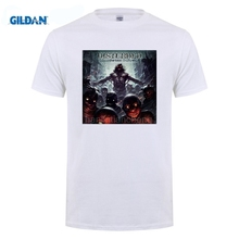 GILDAN 2017 Fashion Hot Sell 100% Cottont O-Neck Short T Shirt Disturbed The Lost Children Men Tee Shirts Cheap Sale(China)