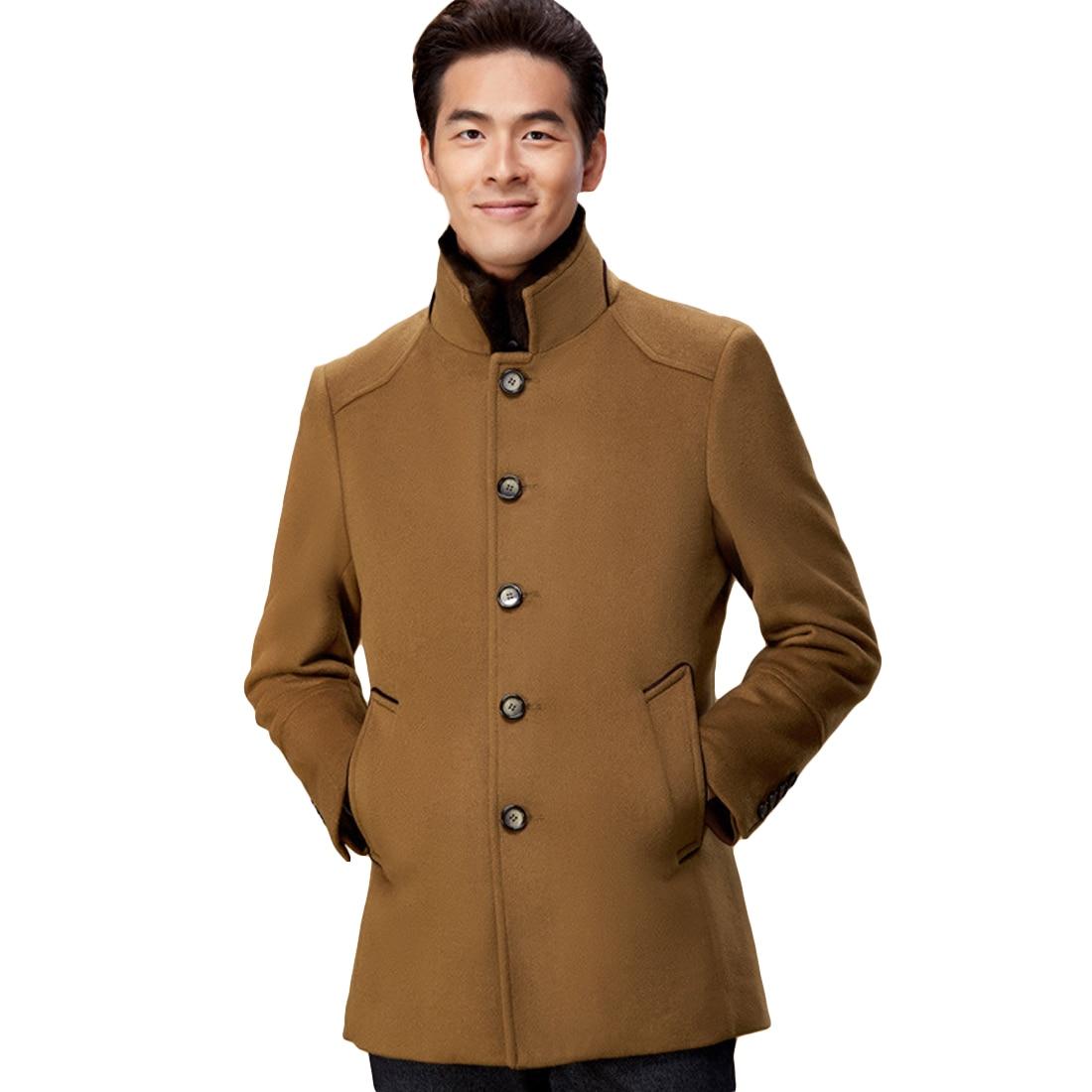 Mens fashion wool coat 36