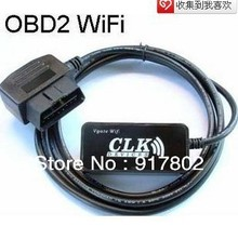 WIFI OBD2 Scanner bend head WIFI WLAN Wireless OBD 2 OBDII OBD II Code Reader Scanner for iPhone Ipad Ipod Touch ELM327