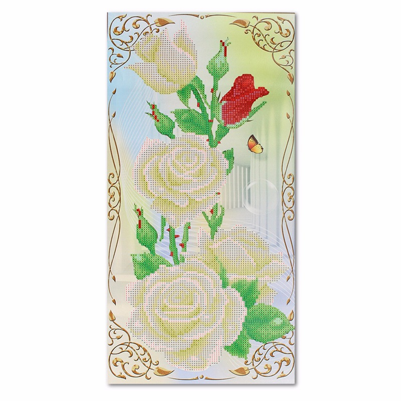 On Sale DIY 5D Rose Flower Diamond Painting Embroidery Cross Stitch Needlework Kits for Home Decor Handmade Art Crafts Gift(China (Mainland))