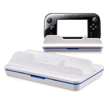 Charge Station Charging Stand Dock Docking power Station for Wii for U Gamepad Charger with cable