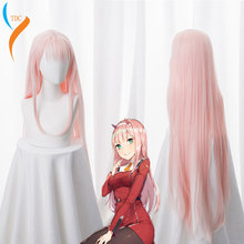 Wig-Cap Cosplay Costume Zero DARLING Anime 02 New-Arrival Synthetic Two-100cm FRANXX