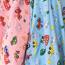 Cotton Cartoon Car Fabric For Child Meter Summer Garment Materials Shirt Tissu Home Decoration Cloth Sewing Textile