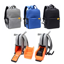 Digital DSLR Camera Bag Photo backpack for Nikon Canon with Rain Cover Waterproof Shockproof Travel Camera Backpack(China)