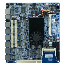Small and medium size enterprise network security Intel Atom D525 firewall motherboard for 6 lan with Bypass(China)
