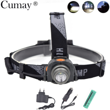 IR Sensor Mini HeadLamp 350LM XPE LED Headlight Outdoor Camping lampe frontal LED Flashlight Head Torch 18650 battery charger