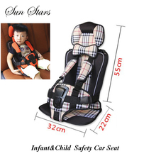 Kids Car Protection 0-4 Years Old Baby Car Seat,Portable and Comfortable Infant Safety Seat,Practical Baby Cushion 2016 Hot Sale