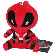 Marvel Movie Deadpool 2016 Soft Deadpool Spiderman Plush Doll Toy Figure 11CM Action Figure