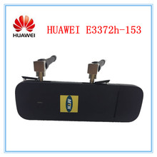 Original Unlocked HUAWEI E3372 E3372h-153 150Mbps 4G LTE Modem dongle USB Stick Data card Mobile Broadband (plus 2pcs antenna)(China)