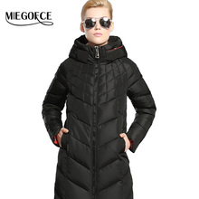 MIEGOFCE Winter Women Coat Jacket Woman Parka Long Warm High Quality Winter Brief Coat With Hood 2016 New Winter Collection