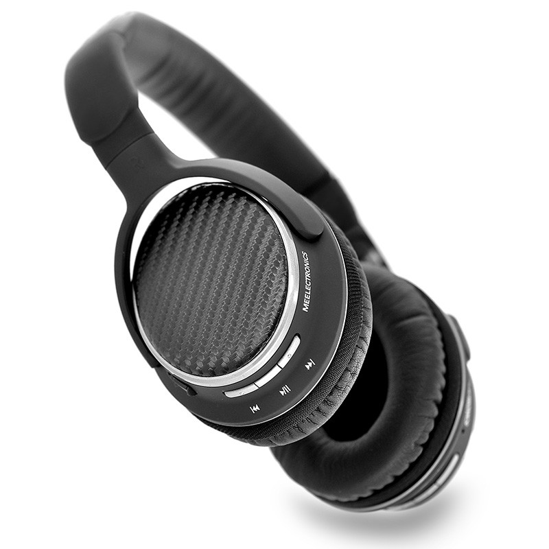 MEE Audio MEElectronics AF62 Noise Isolating Super Bass Stereo Wireless Bluetooth Headphones with NFC Microphone PK PB2.0