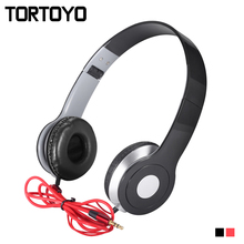 3.5mm Wired Headband Stereo Subwoofer Sound PC Gaming Phone Headphone Earphone with Microphone Headset For Smart Phone Computer