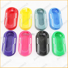 20pieces/lot car flip remote key covers for fiat 500 Key Fobs Case