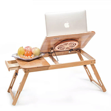 Lap Without Cooler Pad Smaller Size Folding Wood Laptop Table Sofa Bed Office Stand Table Computer Desk Without Cooler Pad