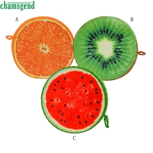2016 HOT SALE Creative 3D Fruit Pillow Cushion Sofa Car Cushion Plush Toys Fruit Birthday Gift SEP 13(China)