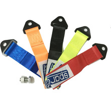 2017 (Red Black Orange Blue Neon Green)High Strength Universal tow strap for sparc/ Racing Car Tow Strap Tow Ropes