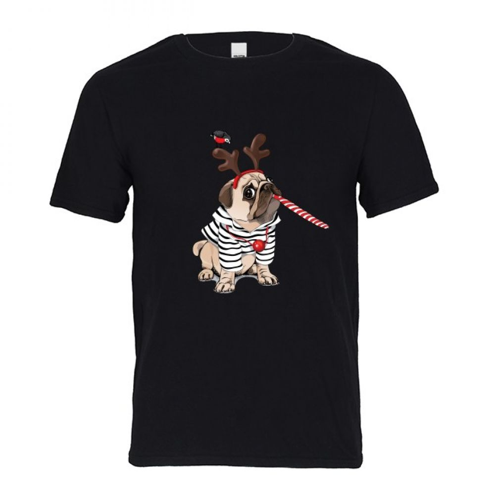 Harajuku Anime Shirt French Bulldog TShirt Men
