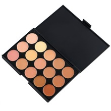 1set Professional 15 Color Camouflage Facial Concealer Palettes Neutral Makeup Eyeshadow Cosmetic