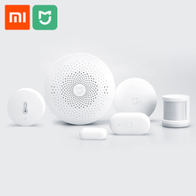 Xiaomi Smart Home Automation Multifunction Gateway Door Window Human Body Sensor Temperature Humidity Sensor Wireless Switch