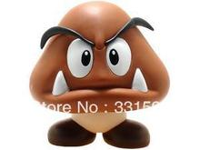 Super Mario goomba pvc doll 3 inch baby figure toys collection for Christmas gifts/baby gifts free shipping