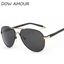 DOW AMOUR 2017 Polarized Sunglasses Men/Women Brand Designer summer style Sun Glasses UV400 Driving Golf Gafas De Sol(China)