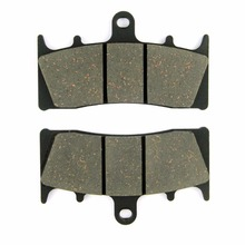SOMMET Motorcycle Front Brake Pads Disc 1 pair for Kawasaki ZZR 600 (ZX 600 J4/J6F-J8F) (05-08) ZZR600 ZX600  LT188