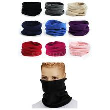 Trendy Polar Fleece Neck Warmer Comfy Snood Scarf Ski Motorbike Mask