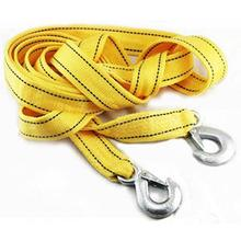 Car Tow Rope Cable Towing Strap With Hooks Emergency Heavy Duty 4.5Tons 4M High Strength Nylon For Car Truck Camping
