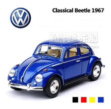 New High Simulation Model Toys Volkswagen Beetle 1967 Retro Classic Car Models 1:32 Alloy Car Model Excellent Christmas Gifts