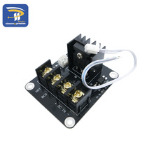 New 3D printer hot bed Power expansion board / Heatbed power module / MOS tube high current load module(China)