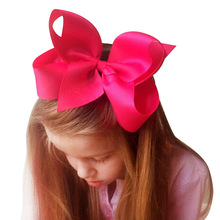 2017 Newborn 15*8cm large hair Bow Headbands Tiara hair barrette girls cute hair clips 20 colors  children hair accessories